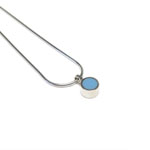 Kim Allwright - Pale Blue Dot Pendant