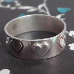 Laura Swain - Sterling Silver Ring