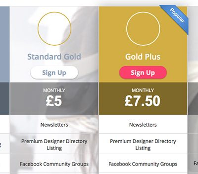 Restructured Gold Member Subscriptions