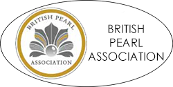 British Pearl Association Gold logo