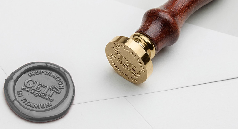 'Peel and Stick' Wax Seal Making Service